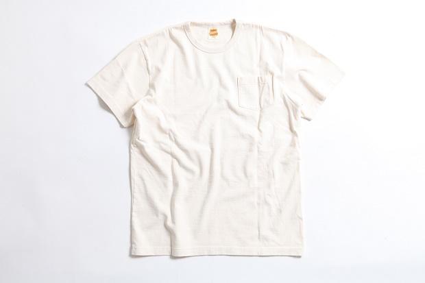 Tシャツ ポケット ナチュラル