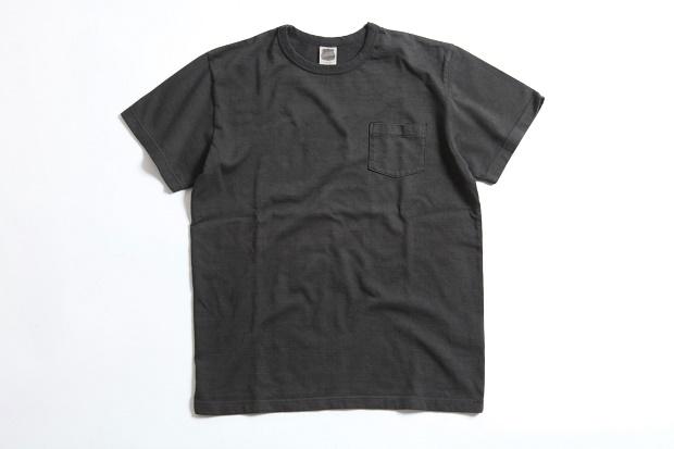 Tシャツ-ポケット-黒